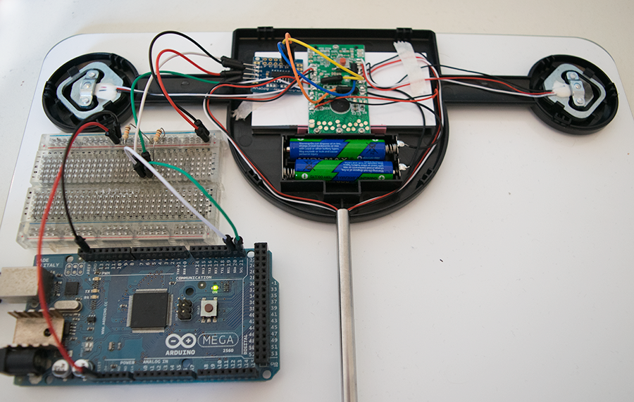 Scales with Arduino Mega